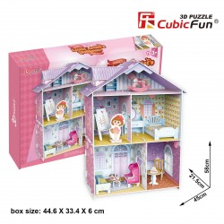 Puzzle casa de muñecas 3D