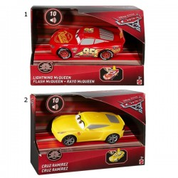 Cars 3 coches luces y sonidos