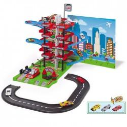 Parking Autocenter con circuito + 3 coches