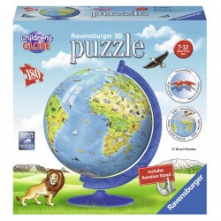 Puzzle 3D globo new edition
