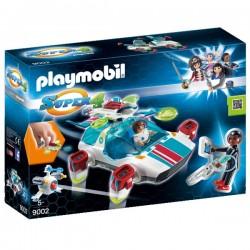 PLAYMOBIL® FulguriX con Agente Gene