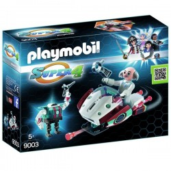 PLAYMOBIL® Skyjet con dr. X y robot